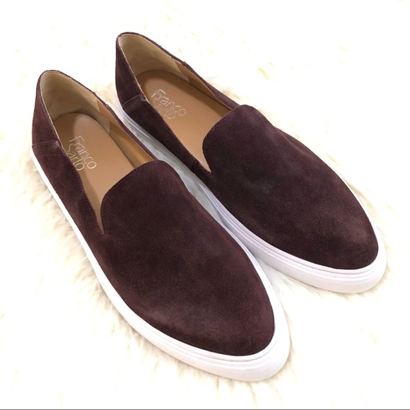 ef7a4a3342c FRANCO SARTO Mitchell burgundy slip on sneaker